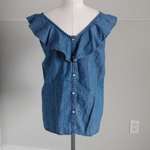 🔥3/$25 | Old Navy | chambray top